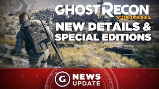 Ghost Recon Wildlands Special Editions and New Details Revealed - GS News Update