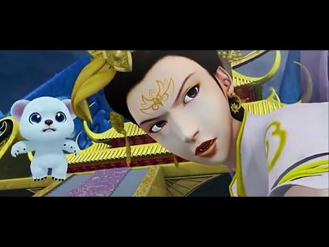 мультфильм для детей - красивая принцесса