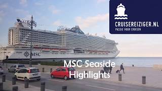 MSC Seaside Highlights Launch