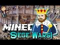 Minecraft: DEFEND THE KING SIEGE WARS Mini-Game Challenge w/Mitch & Friends!