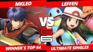 Genesis 6 SSBU - FOX MVG | MkLeo (Ike) VS TSM | Leffen (Pokemon Trainer) Smash Ultimate W. Top 64