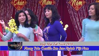 Hop Mat Tat Nien 2018 Phong Trao Cursillo San Jose Nganh Viet Nam