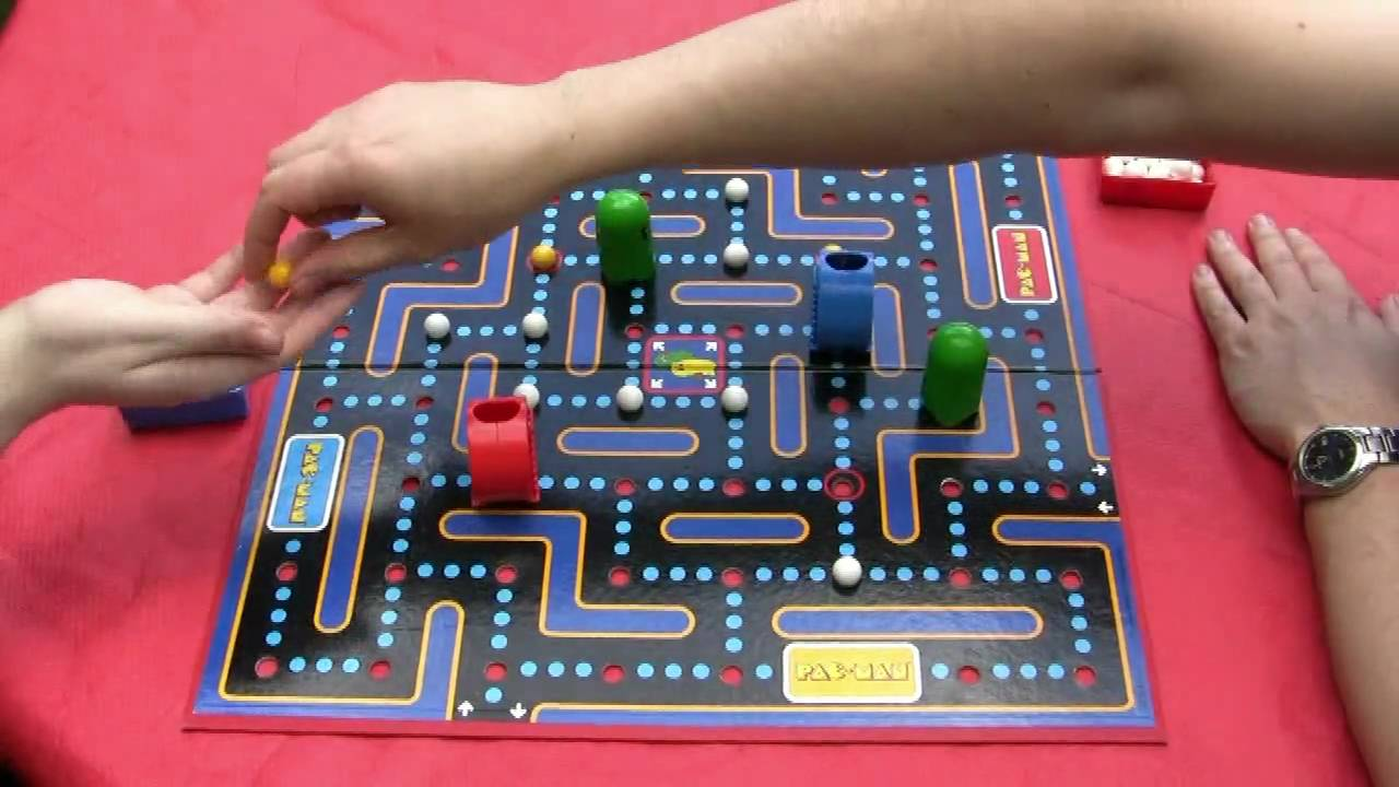 Pac Man The Board Game Youtube
