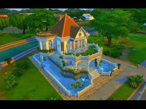 Как сделать красивый дом в симс