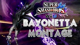 HIGH HEELS! BAYONETTA MONTAGE! // Super Smash Bros. (Wii U)