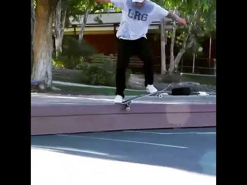 This trick is insane by @carlosribeiro91 🎥: @juniorjv23 | Shralpin Skateboarding