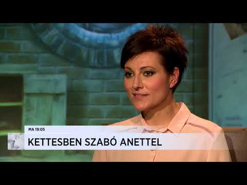 Kettesben Szabó Anettel (2018-01-07) - ECHO TV