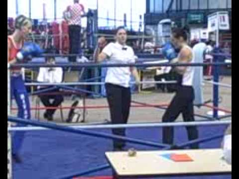 France v. Serbia, Women's Savate Kickboxing, 52kg 2 Image 1