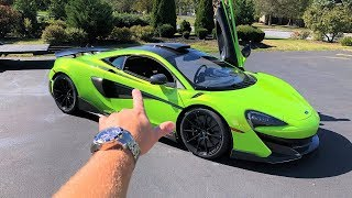 I'VE WAITED 14 MONTHS FOR THIS... FIRST DRIVE in My New McLaren 600LT!!!
