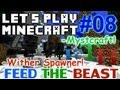 Let's Play Minecraft FTB Ep. 8 - Mystcraft Wither Spawner