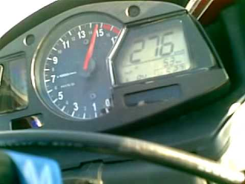 Honda CBR 600RR 2009 C-ABS Top speed 280km/h