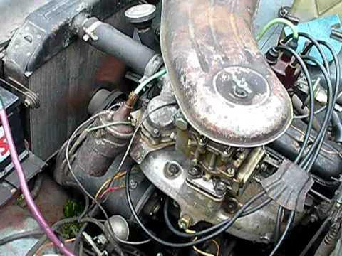 Новый двигатель на москвич 412
