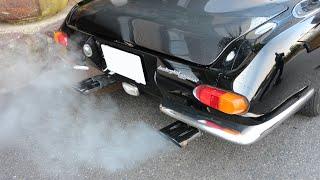 Lamborghini 400GT 2+2 1966 【exhaust sound】