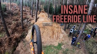 THIS COULD BE THE BIGGEST MTB JUMP LINE IN THE UK!!