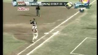 Naranjeros Triple Play 27 ene 2010