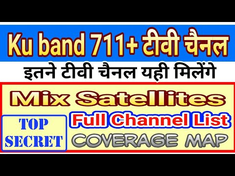 Free dish ( 711+ टीवी चैनल ) !! Full Coverage Map and channels