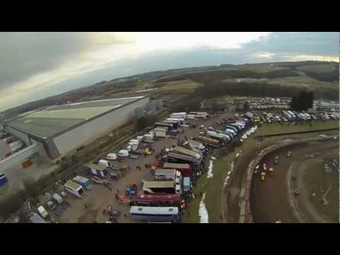 Quadcopter FPV over F1 Stock car racing-Chesterton Race way