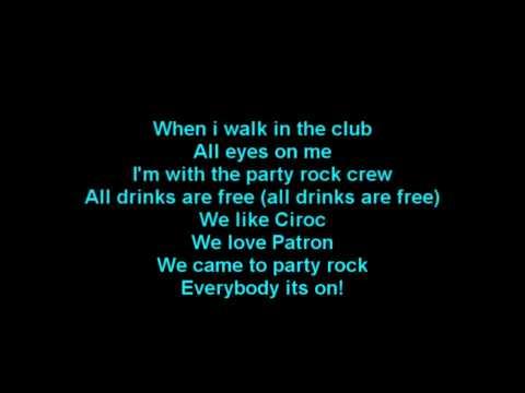 LMFAO - Shots ft. Lil Jon Lyrics