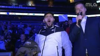 Jack Courage Dunlop Shows Up At COD CHAMPS 2018