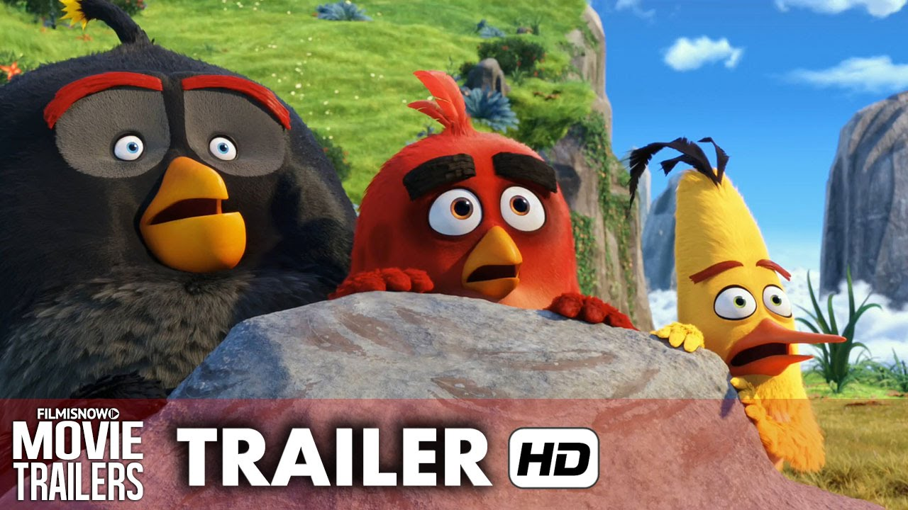 THE ANGRY BIRDS MOVIE Official Trailer - Why are the birds so Angry? [HD]