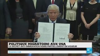 Décret anti-immigration :