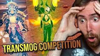 Asmongold HORDE Transmog Competition