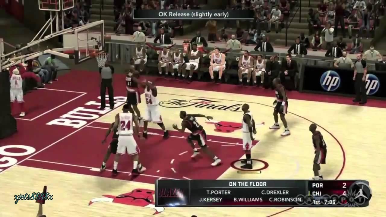 Nba 2k11 Jordan Challenge Gameplay Hd Youtube