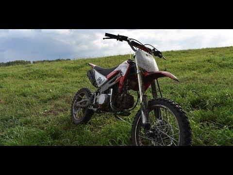 X-MOTO RAPTOR 140-бюджетный питбайк