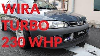 Proton Wira Turbo Laju Ke?