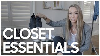 Closet Essentials - Secrets Of A Stylist
