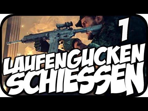 LAUFEN»GUCKEN»SCHIESSEN #01 - LOS! [Let's Play Black Ops 2]