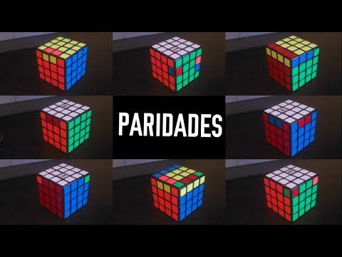 Tutorial: TODAS las Paridades del Cubo de Rubik 4x4