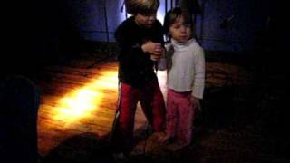 January 2, 2009: Lennon and Harper sing karaoke (Part 1)