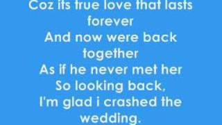 Crashed The Wedding - Busted lyric video