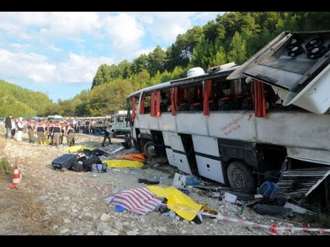 Six killed in bus accident in Turkey, 37 Injured