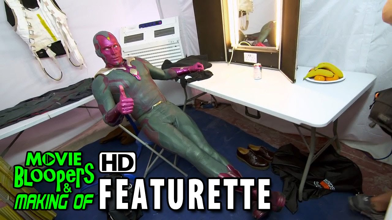 Avengers: Age of Ultron (2015) Blu-ray/DVD Featurette - Designing Vision