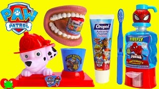 Paw Patrol Marshall Brush Teeth with Surprises
