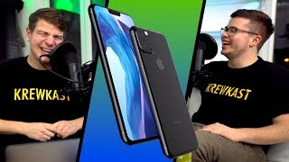 KREWKAST #047: Die grauenvollen iPhone 11 Leaks, Kino-Week & Unser Start in 2019!