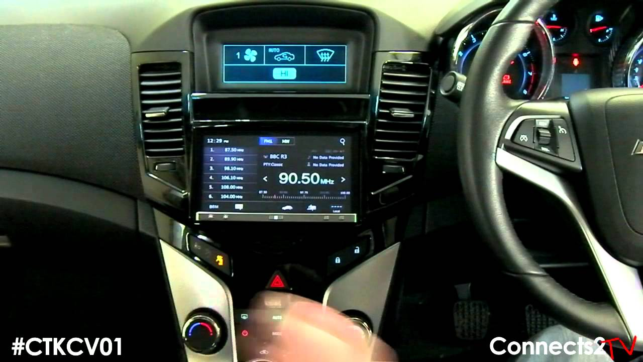 Chevrolet Cruze 2011 Integration Kit Install Guide