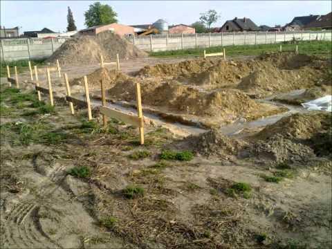 budowa domu Jarzębina 2 - stan surowy