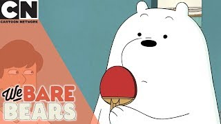We Bare Bears | Ice Bear Owns at Ping Pong | Cartoon Network