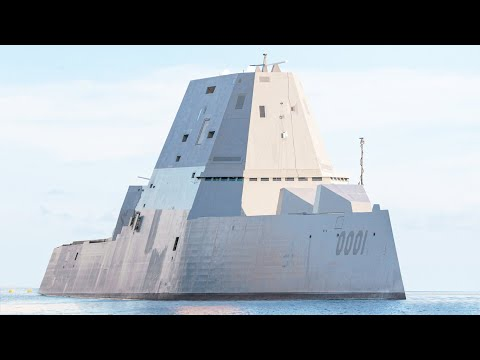 What's Inside The Latest $4 Billion US Stealth Destroyer