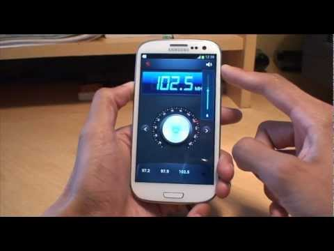 Samsung Galaxy S3: Radio App (SIII. i9300)