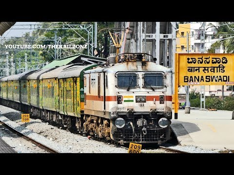 First WAP7 of TATA | Duronto Express | (WAP7 30534) | Indian Railways thumbnail