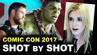 Thor Ragnarok Comic Con Trailer REVIEW & BREAKDOWN