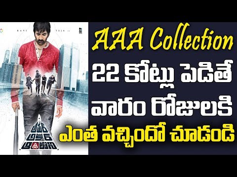 Amar Akbar Antony One Week Collections | Raviteja | Ileana | Tollywood Latest Box Office Records