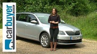 Skoda Octavia estate 2013 review - Carbuyer