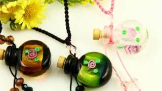 Wholesale cheap murano lampwork glass pendants necklace How to buy wholesle for DIY making