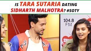Is Tara Sutaria dating Siddharth Malhotra? #SOTY2