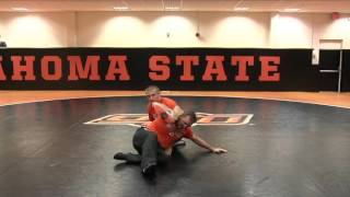 Learn the Straight Leg Counter from John Smith! - Wrestling 2016 #8